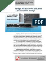 Dell PowerEdge M820 blade storage solution