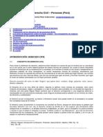 Derecho Civil Personas Peru i