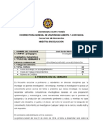 FORMATO  DEL SYLLABUS MAESTRIA EDUCACIÓN 2014 1.