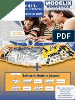Apresentação Kit Laboratório de Robótica Escolar 411 e 411 PLUS Modelix