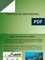 Ecologia de Comunidades 1