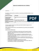 Acuerdo de Suministro POLIGAS