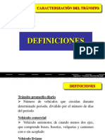02. Caracterización del Tránsito