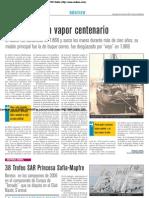'El Isleño', un vapor centenario