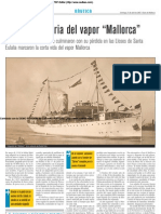La corta historia del vapor Mallorca