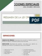 EXPO DE LEY 29090