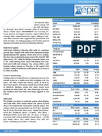 Special Report by Epic Research 31 January 2014