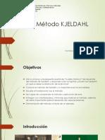 Método KJELDAHL