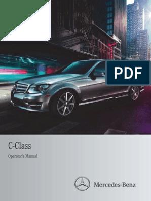Mercedes Benz C250 Car Full Manual | Headlamp | Automatic Transmission