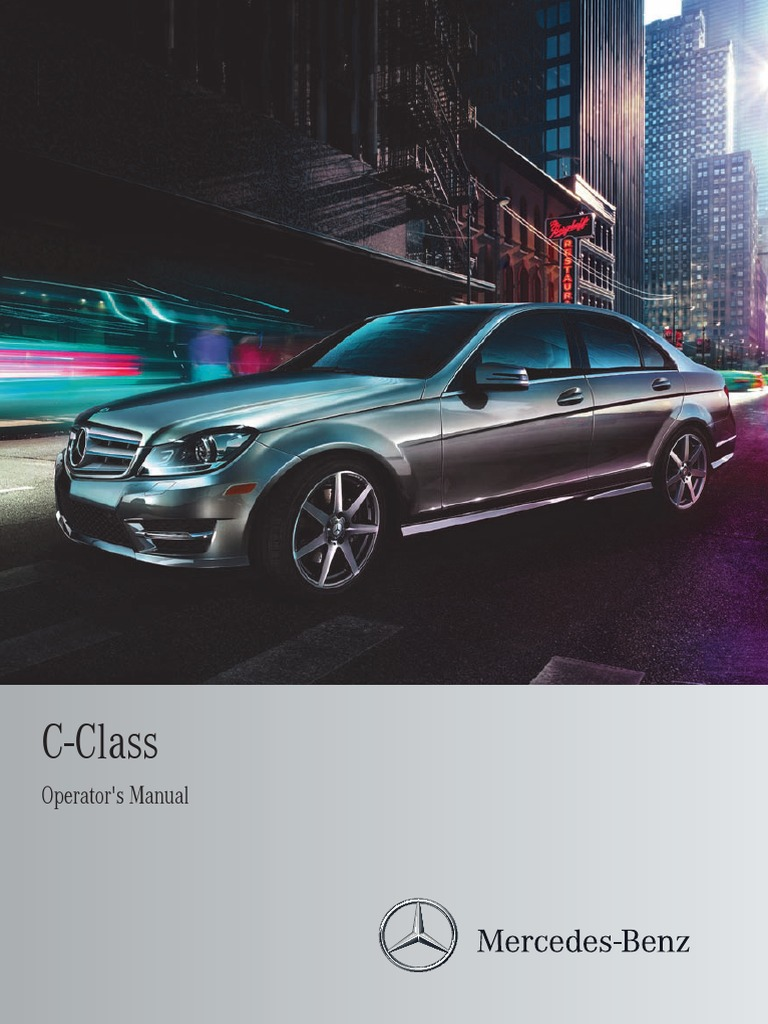 Mercedes Benz C250 Car Full Manual | Headlamp | Automatic