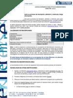 GUÍA DE ASPIRANTES 2014-1 TITULOS UNIVERSITARIOS
