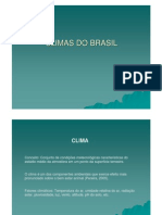 [Slides] Climas Do Brasil