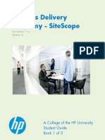 Services Delivery Academy - SiteScope - SG1