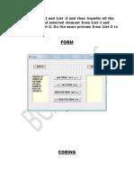 Create List visual basic