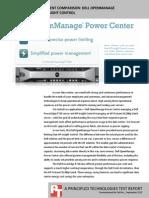 Server power management comparison