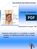 Acute Intestinal Obstruction...
