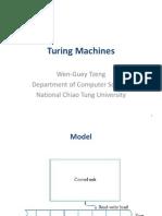 9. Turing Machines