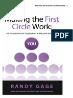 Randy Gage Haciendo Que El Primer Circulo Funciones RG1