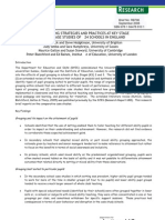 Pupil Grouping Strategies and Practices at Key Stage 2 and 3-Research Brief