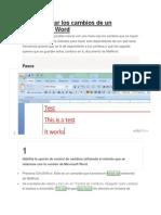 Revisiones en Word