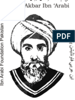Ibn Arabi's Wahdat Al-Wujud