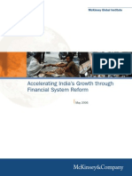 Accelerating India Growth Through Financial System Reform