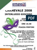 Carnevale di Cormano 2008