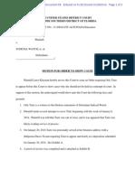 Motion for OSC Klayman v Judicial Watch
