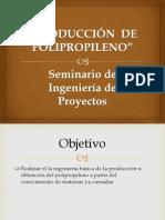 PRODUCCIÓN  DE POLIPROPILENO final