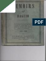Memoirs of Baguio