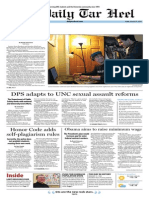 The Daily Tar Heel for Jan. 31, 2014