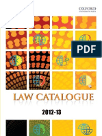 Law Catagloue2012 13