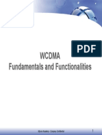 MYCOM - WCDMA Fundamentals AndFunctionalities - For Handsout