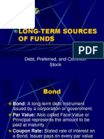 Longterm Sources of Funds