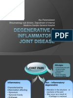 Degenerative and Inflammatory Joint Disease Pit 2013 Dr Ayu p