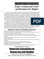 MU Students Charter UCDE English