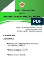 Workshop Cardio Program Latihan Irsyad