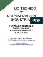 PUNTOS DE CENTRADO, ENTALLADURAS, REDONDEAMIENTOS Y CHAFLANES