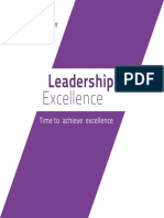 Leadership Excellence I