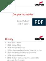 Cooper Industries Presentation