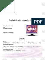 BenQ G700 Service Manual