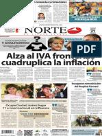 Periódico Norte edición impresa día 31 de enero 2014