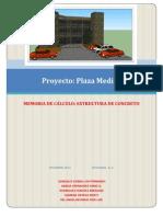 Memoria de Calculo Estructura de Concreto
