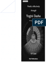Predict Effectively Throught Yogini Dasha by VP Goel