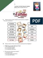 Arbeitsblatt Uta und ihre Familie