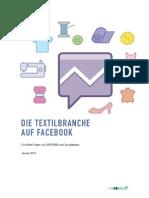 Die Textilbranche auf Facebook