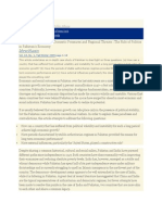 The Role of Politics in Pakistan's Economy.docx