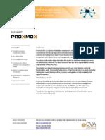 Proxmox VE Datasheet