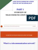 Part 1.1 Overview Telecom Network