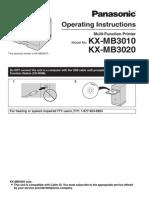 KX-MB3020